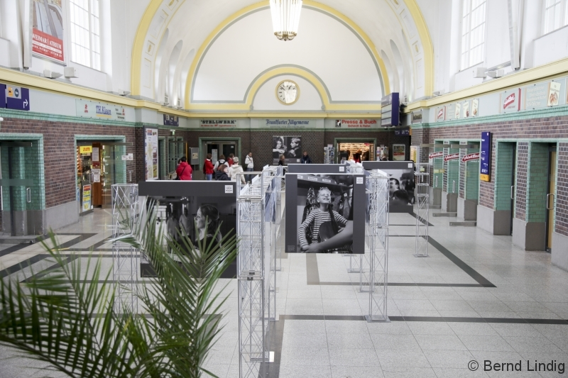Fotoausstellung Hauptbahnhof Weimar